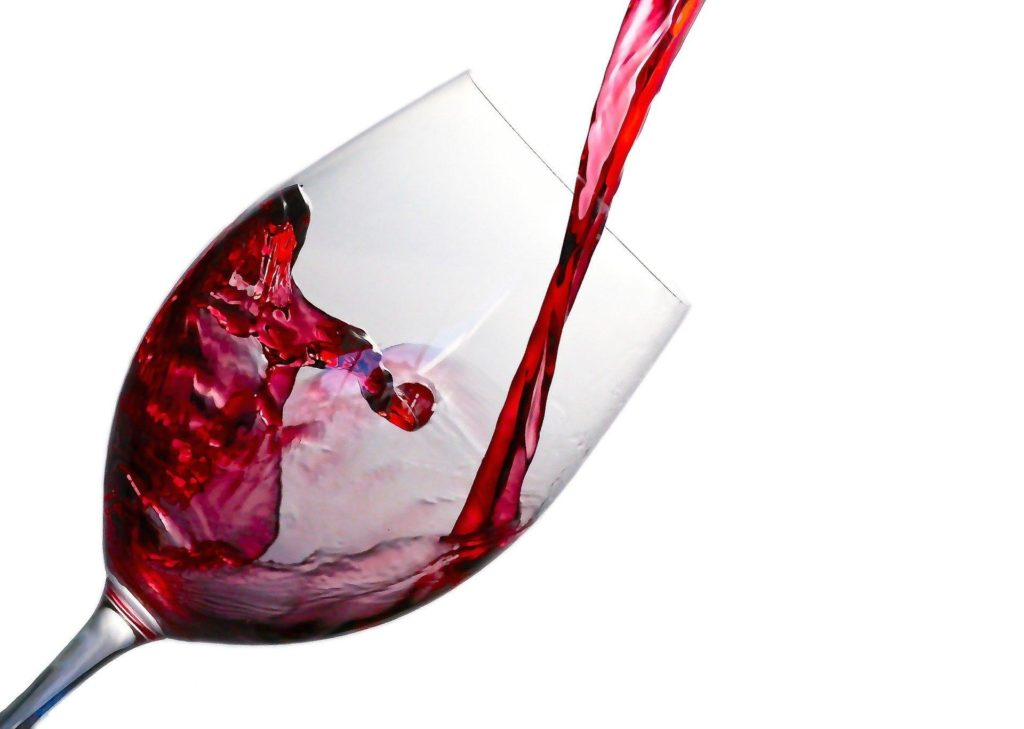 red wine is good for heart